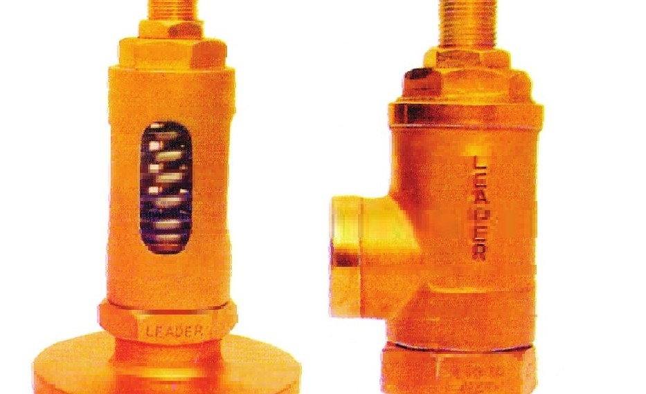 BRONZE SPRING LOADED RELIEF VALVE
